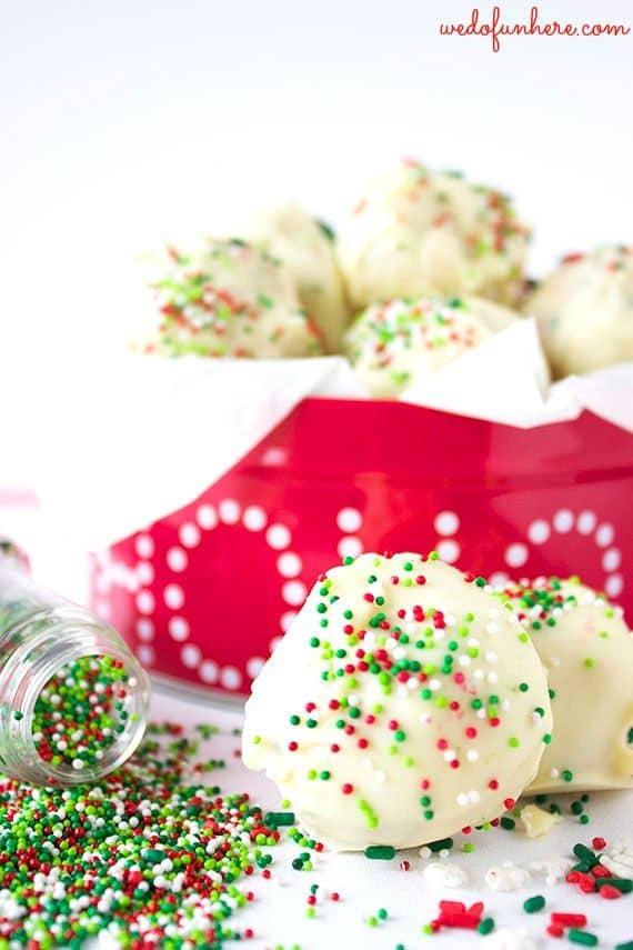 Holiday Oreo Truffles