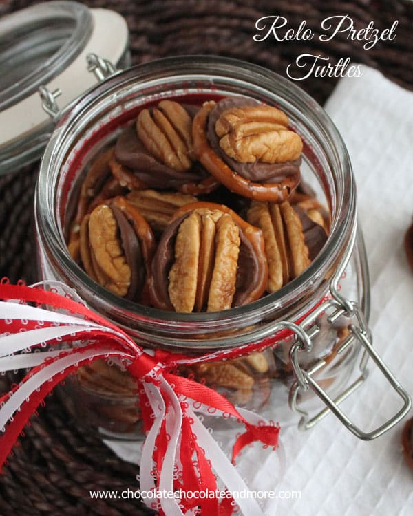Rolo Pretzel Turtles-everyone loves these!