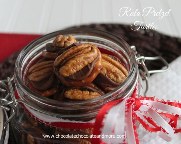 Rolo Pretzel Turtles-the name says it all and so easy to make!