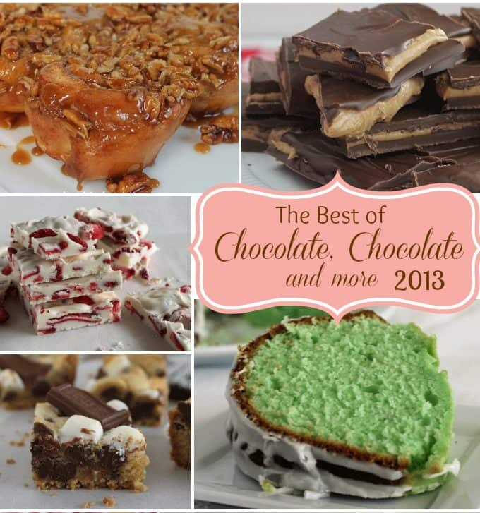 The best of Chocolate, Chocolate and more 2013