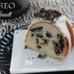 Oreo Bundt Cake-a fun cake that's easy to make!