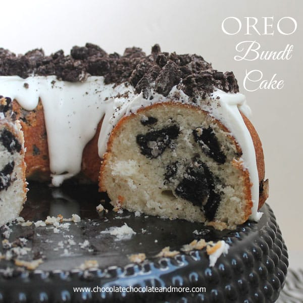 Oreo Cookies And Cream Bundt Cake Chocolate Chocolate