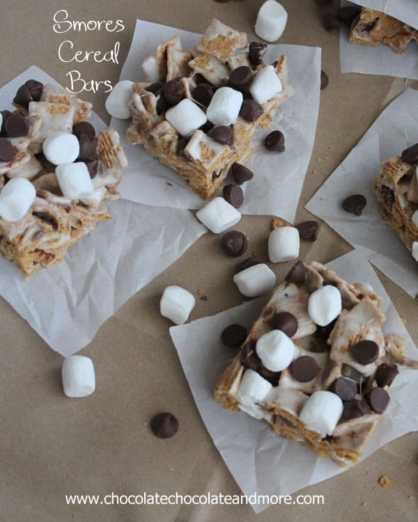 Cereal S'more Bars Recipes — Dishmaps