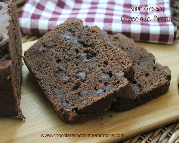 Sour Cream Chocolate Bread