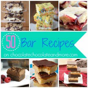 50 Bar Recipes-Because bars take less time to make!