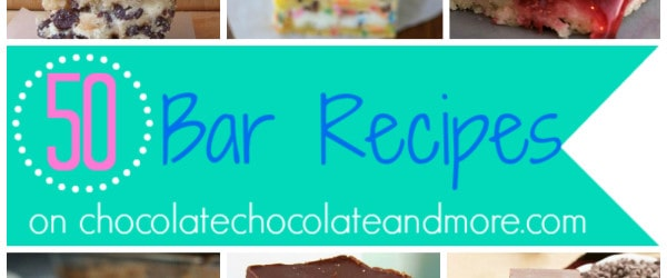 50 Bar Recipes