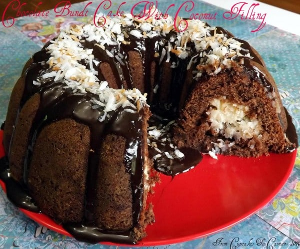 Chocolate Bundt with Creamy Coconut Filling