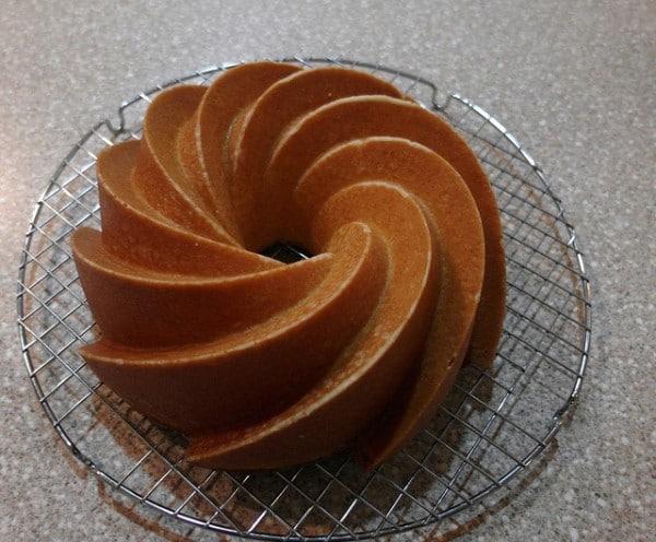 White Lights Honey Pound Cake