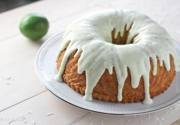 Coconut Lime Bundt Cake