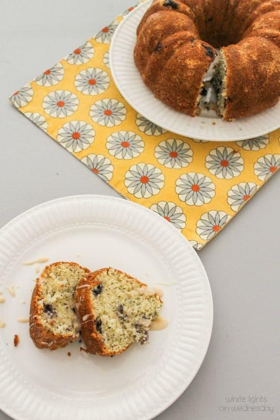 Lemon-Blueberry Poppy Seed Bundt Cake