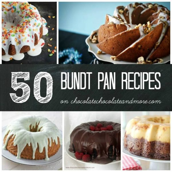~Square Bundt Collage