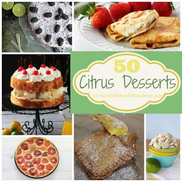 50 Citrus Desserts