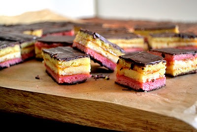 50 Pastel Desserts for Spring: 7-Layer Rainbow Cookies