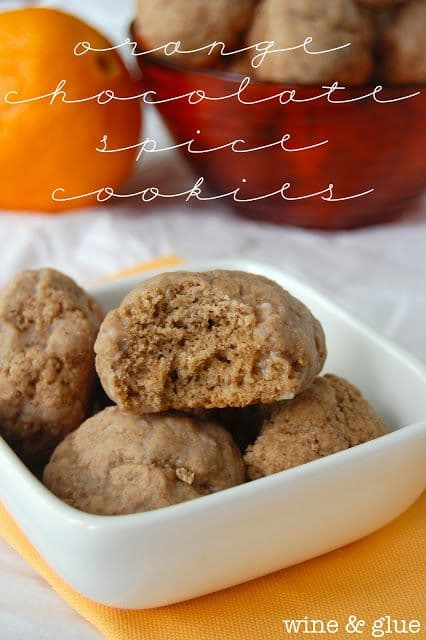 Orange Chocolate Spice Cookies-50 Cookie Recipes to Fill Your Cookie Jar | www.chocolatechocolateandmore.com