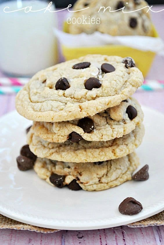 Cake Mix Cookies-50 Cookie Recipes to Fill Your Cookie Jar | www.chocolatechocolateandmore.com