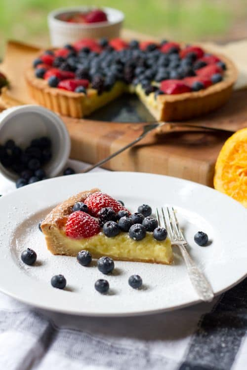 Berry-Citrus Tart