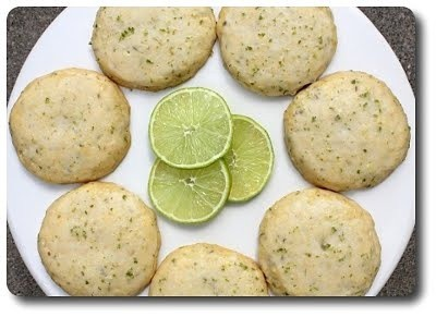 Cornmeal-Lime Cookies