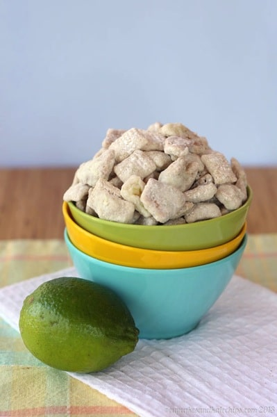 Key Lime Pie Muddy Buddies