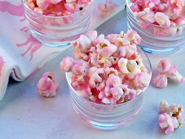 50 Pastel Desserts for Spring: Old Fashioned Pink Popcorn