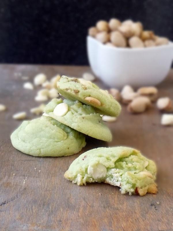50 Pastel Desserts for Spring: Pistachio Pudding Cookies