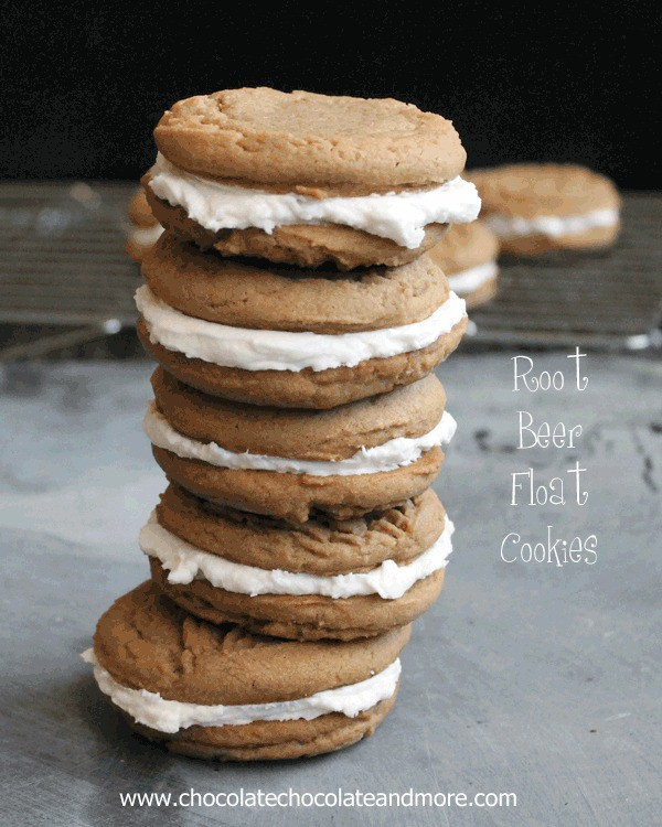 Root Beer Float Cookies-Bring back memories from childhood in a cookie!