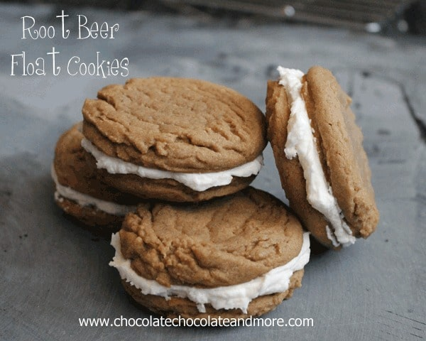 Root Beer Float Cookies-Bring back memories from childhood in a cookie!