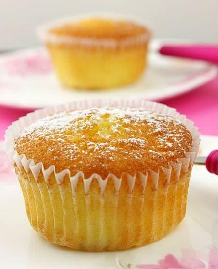 Sicilian Orange Cupcakes