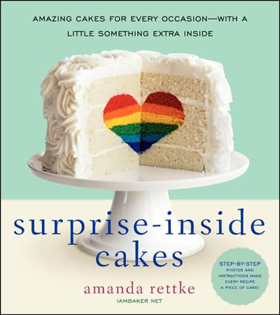 Surprise Inside Cakes by Amanda Rettke of Iambaker.net
