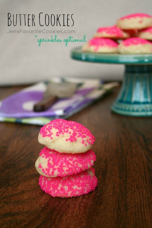 50 Pastel Desserts-Butter Cookies