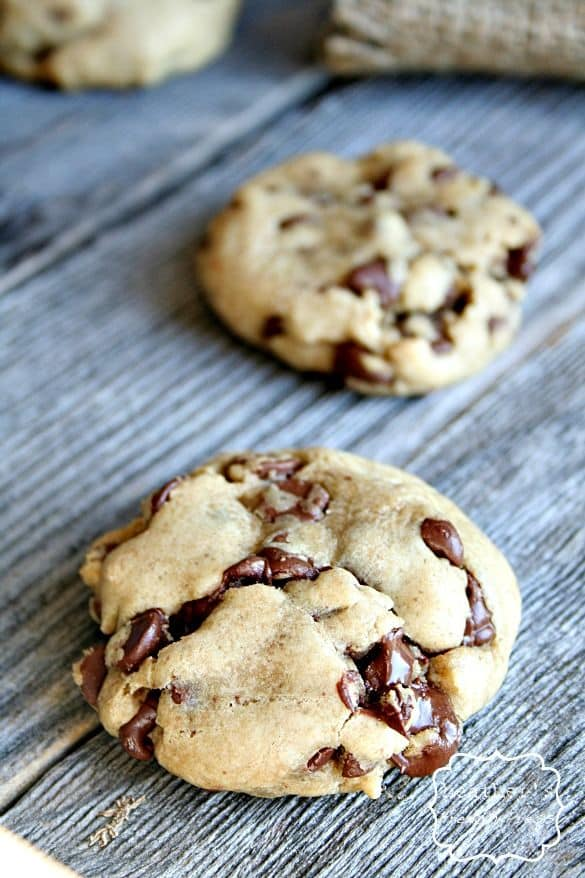 Double the Chocolate Caramel Chocolate Chip Cookies-50 Cookie Recipes to Fill Your Cookie Jar | www.chocolatechocolateandmore.com