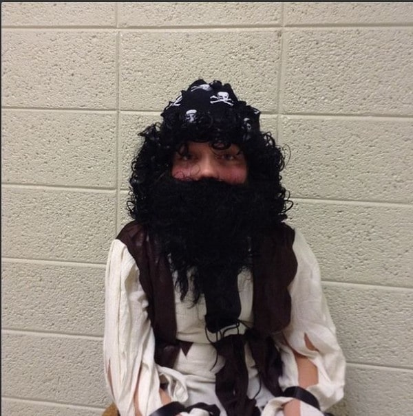 Night at the museum-Blackbeard!