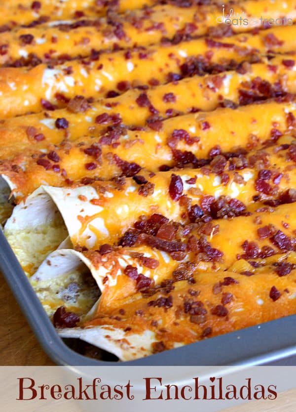 50 Easy to Make Breakfast Recipes: Breakfast Enchiladas