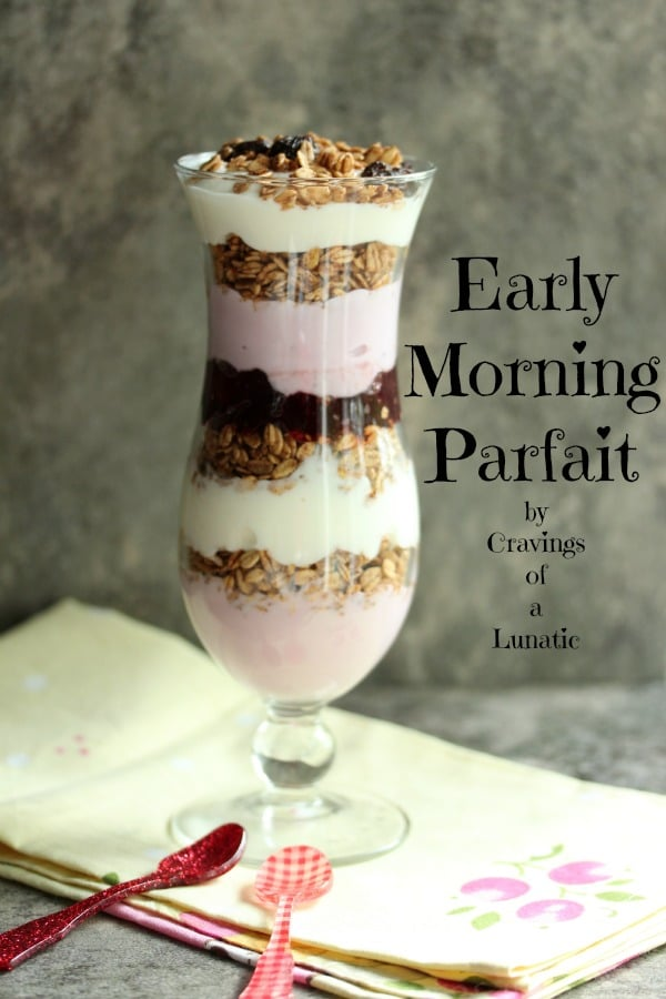 50 Easy to Make Breakfast Recipes-Easy Early Morning Parfaits