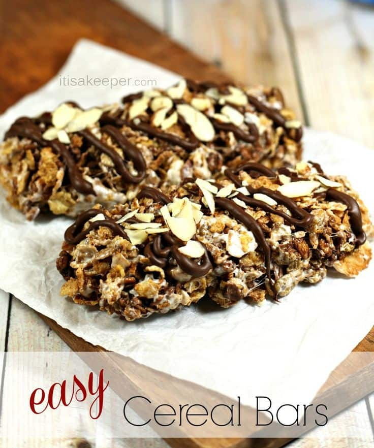 50 Easy to Make Breakfast Recipes: Easy Breakfast Recipes Cereal Bars