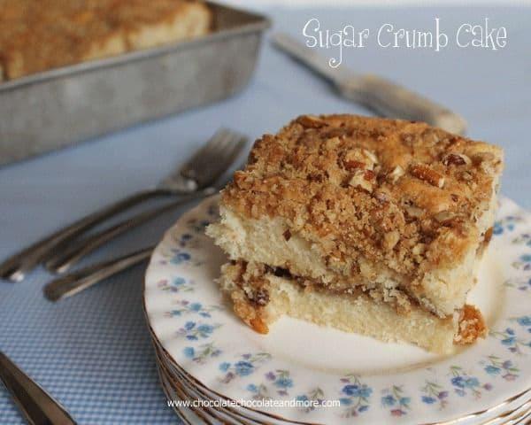 50 Easy to Make Breakfast Recipes: Sugar Crumb Cake