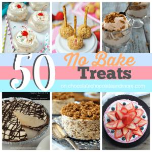 50 No Bake Treats SQUARE