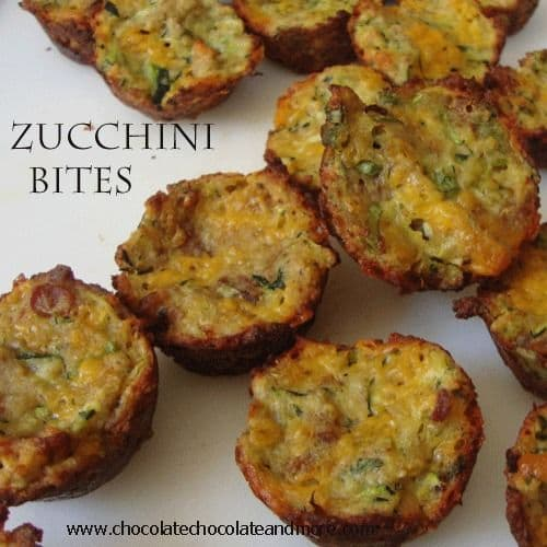 50 Zucchini Recipes | chocolatechocolateandmore.com