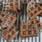 Brownie Waffle Cookies-The rich taste of a brownie made with your waffle iron!