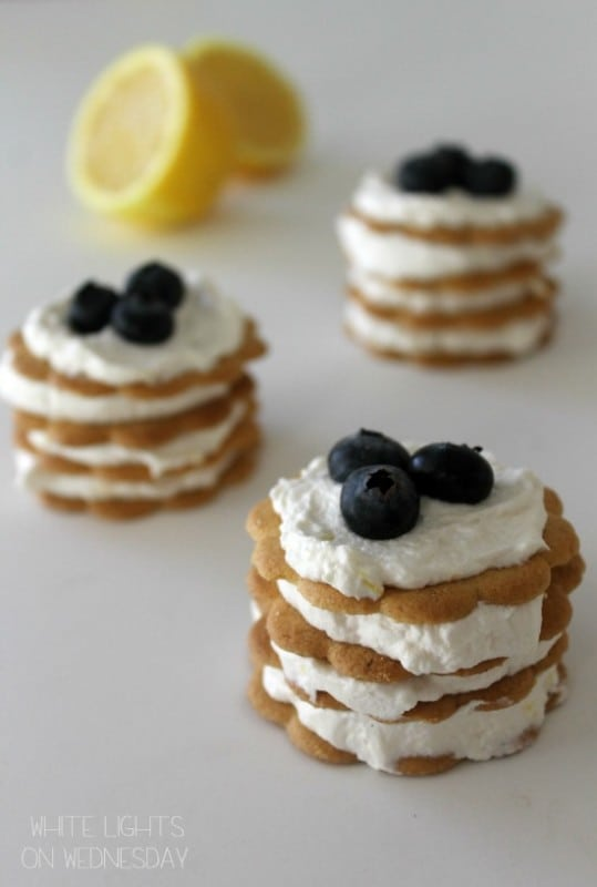 50 No Bake Treats: Lemon Icebox Cupcakes