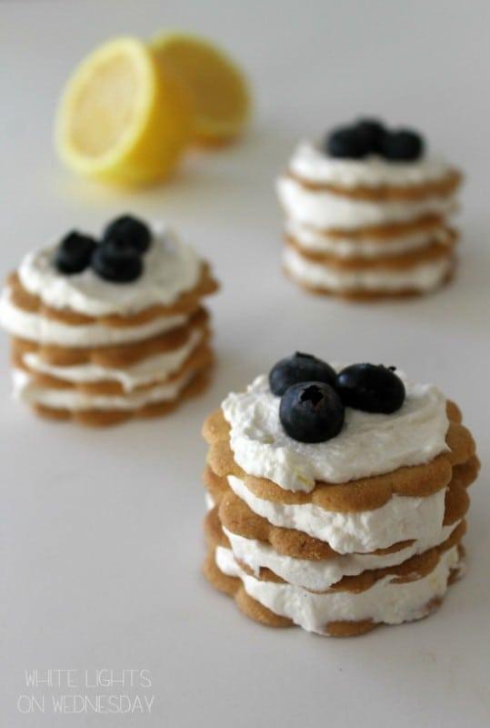 50 No Bake Treats: Lemon Icebox Cupcakes