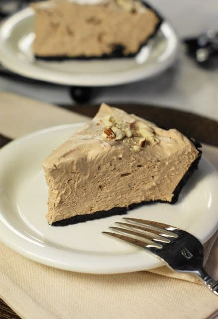 50 No Bake Treats: No-Bake Hershey's Chocolate Bar Pie