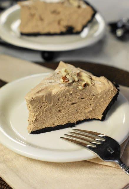 50 No Bake Treats: No-Bake Hershey's Chocolate Bar Pie