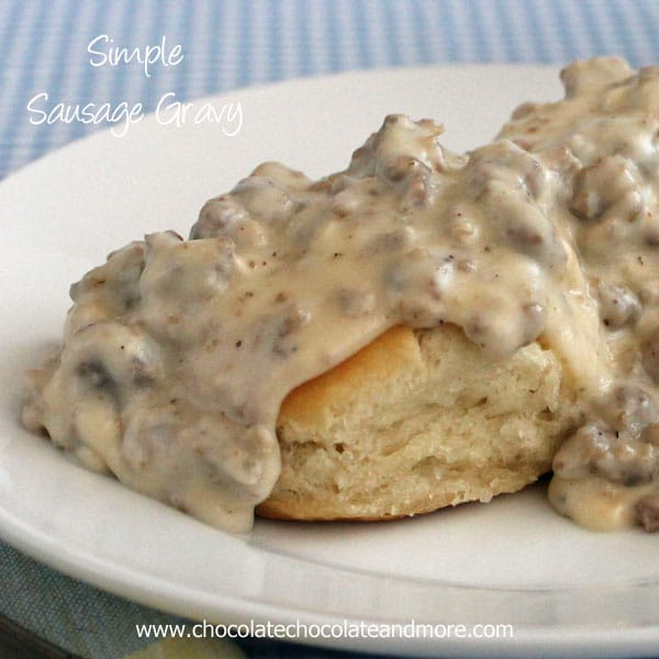 Simple Sausage Gravy