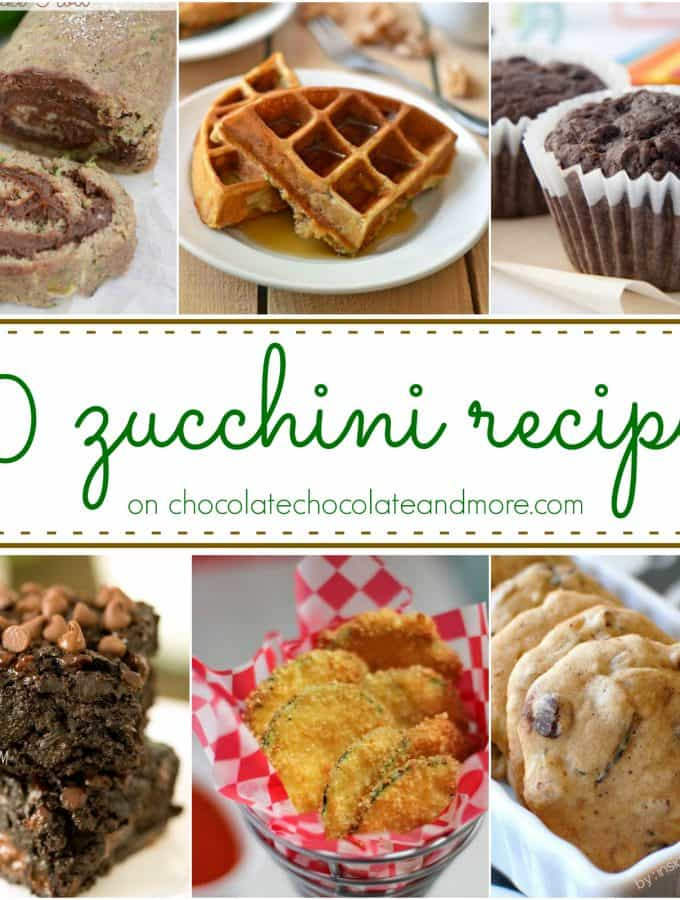 50 Zucchini Recipes