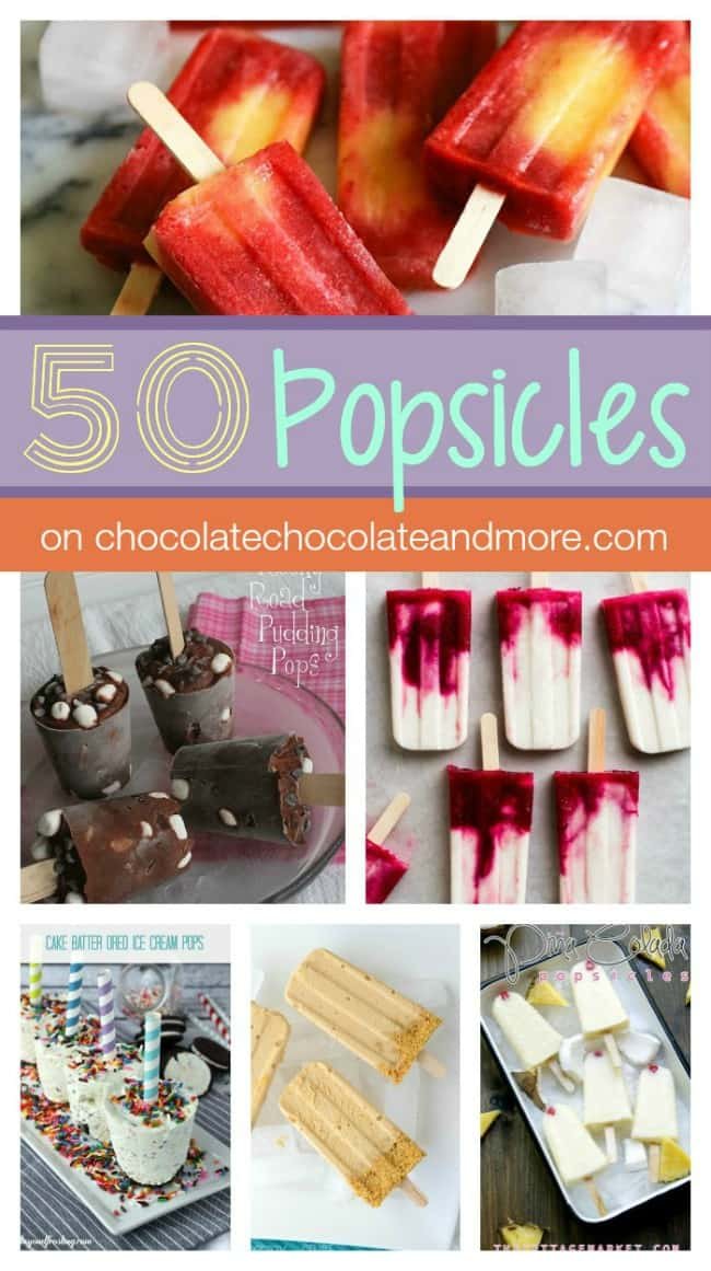 50 popsicle Recipes to help you cool Down