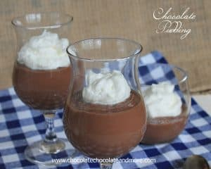 Chocolate Pudding from Scratch-it's easier to make than you think and better than anything that starts with a box!