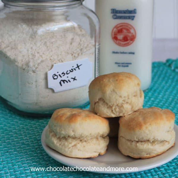 Homemade Biscuit Mix-you never have to buy the box stuff again!