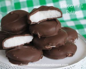 Homemade Peppermint Patties are better than anything you can buy in the stores and easy to make!