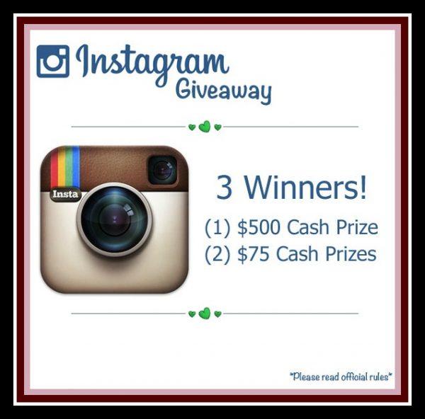 Instagram giveaway