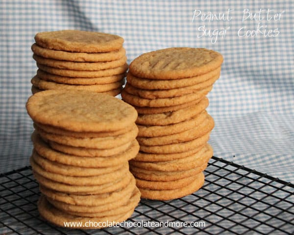 Peanut Butter Sugar Cookies The Best Of A Sugar Cookie And A Peanut Butter Cookie